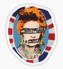 God Save The Dame Sticker