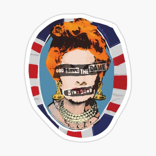 God Save The Dame Sticker
