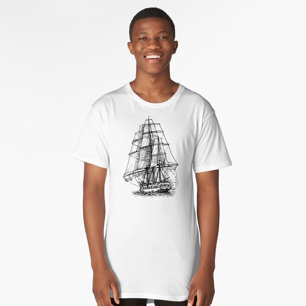 Frigate Long T-Shirt Front