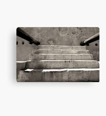 Steps at Tumacacori Canvas Print