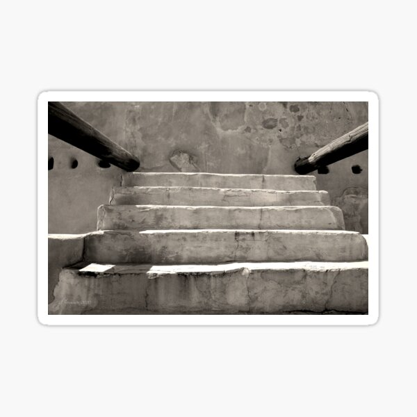Steps at Tumacacori Sticker