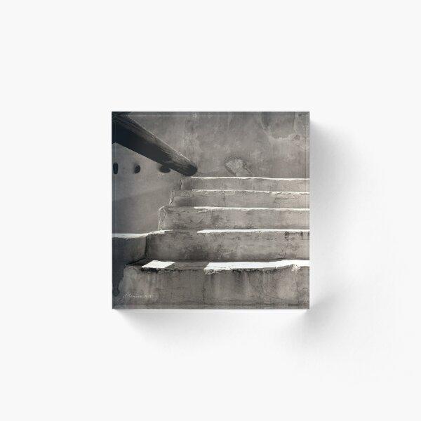 Steps at Tumacacori Acrylic Block