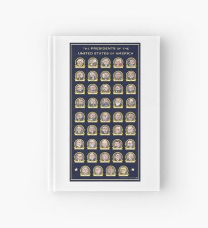 Presidents of the USA Hardcover Journal