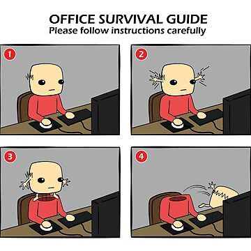 Office Survival Guide Comic by rideawave