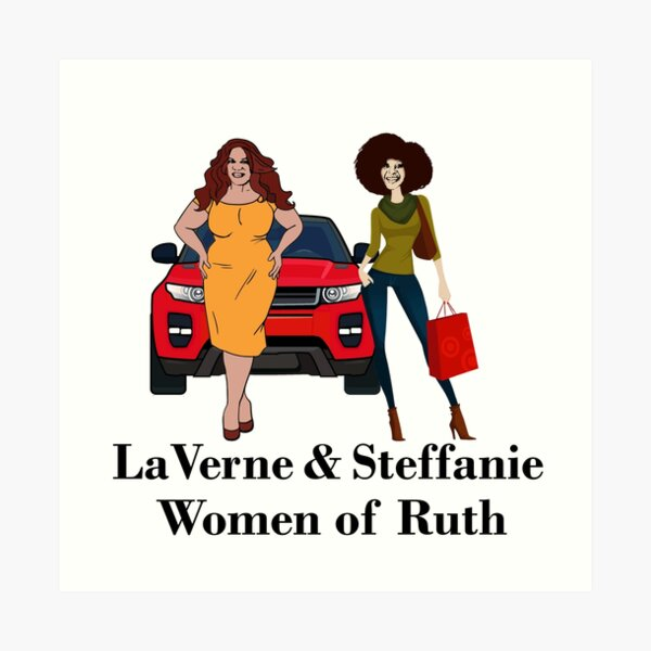 LaVerne & Steffanie Art Print