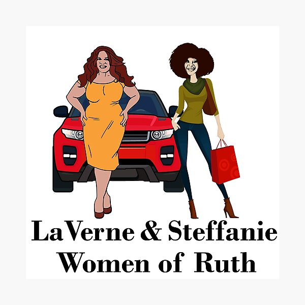 LaVerne & Steffanie Photographic Print