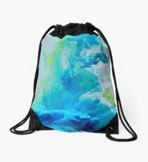Breathing Underwater Drawstring Bag