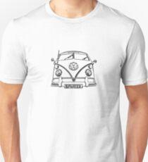 VW kombi Split T-shirt Unisex T-Shirt