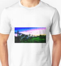 Fence at the Countryside (Westerwald) by Susanne Schwarz Unisex T-Shirt