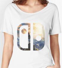 BOTW Nintendo Switch Logo Women's Relaxed Fit T-Shirt
