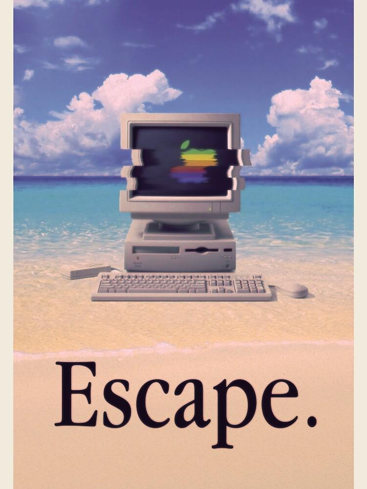 Vaporwave Macintosh de Alheak