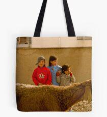 girls of afghanistan Tote Bag