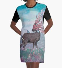 Companions Graphic T-Shirt Dress