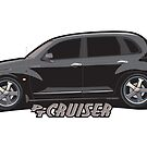 PT Cruiser - Black by Greg Hamilton