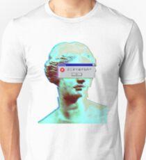 Vaporwave geblendet Slim Fit T-Shirt