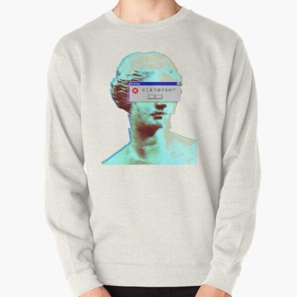 Vaporwave Blinded Pullover Sweatshirt