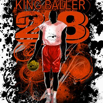 KING BALLER (ORANGE) by DionJay