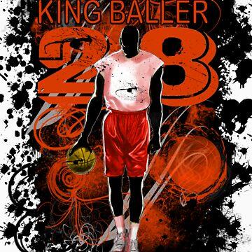 KING BALLER (ORANGE) by DionJay