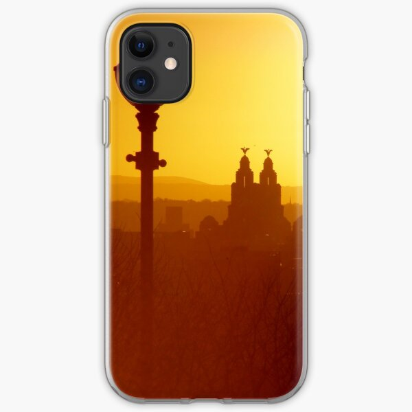 Liver Building at Sunset iPhone Soft Case