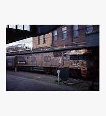 Diesel Engine @ Central Station, Sydney 2000 Photographic Print
