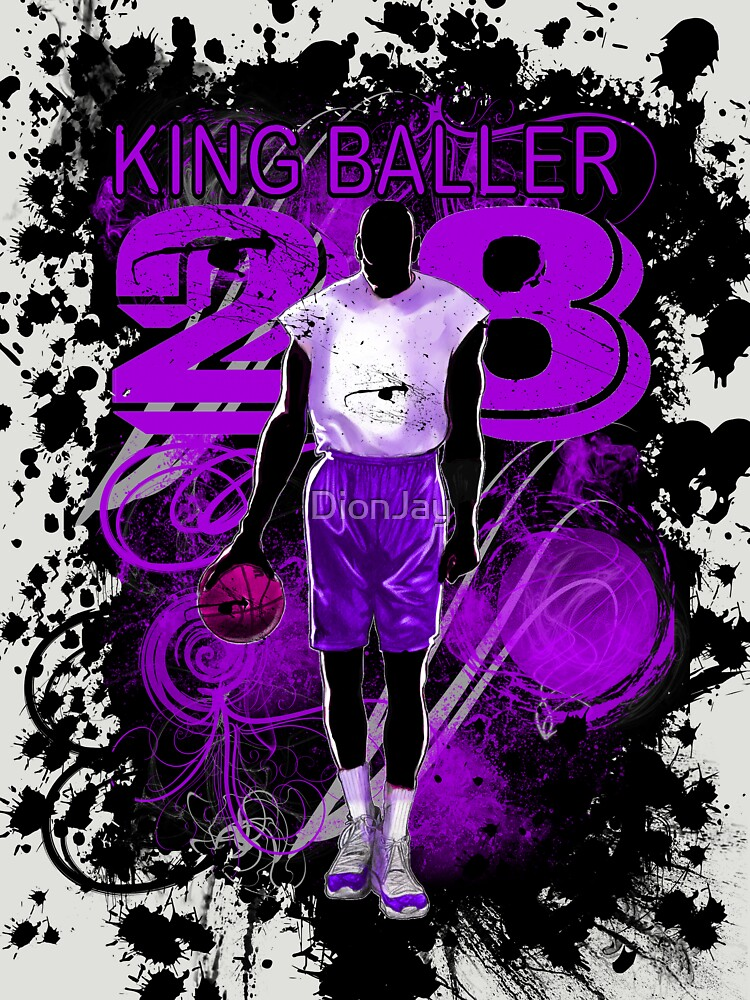 KING BALLER (PURPLE) by DionJay