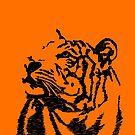 Tiger-Skizze von sandyeates