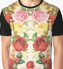 Vintage flowers illustration Graphic T-Shirt