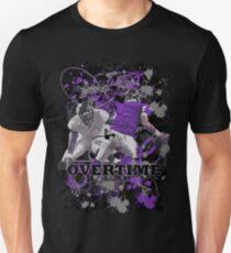 OVERTIME (QUARTER BACK)PURPLE Unisex T-Shirt