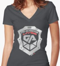Anders Lives! Galactic Authority Shirt - Dark Matter | OTTees Women's Fitted V-Neck T-Shirt