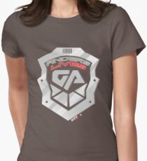 Anders Lives! Galactic Authority Shirt - Dark Matter   OTTees Womens Fitted T-Shirt