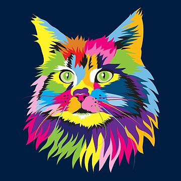 Persian Cat Owner Gift Shirt for Cat Owner - Colorful Cat So Meowgical Tee by niftee