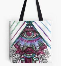 Psychedelic Lil Eye Tote Bag