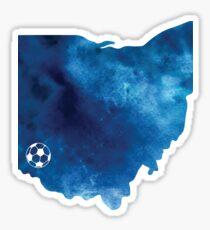 Cincinnati, Ohio ––soccer Sticker