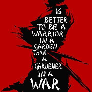 Warrior's Garden by ShadowBlade524