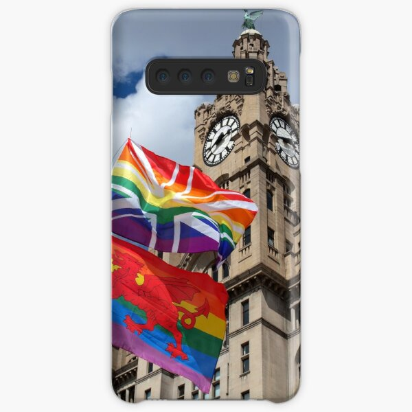 Liver Building and Pride Flags Samsung Galaxy Snap Case