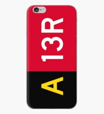 Holding Point Sign A 13R iPhone Case