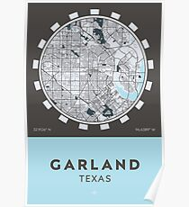 Garland TX Poster