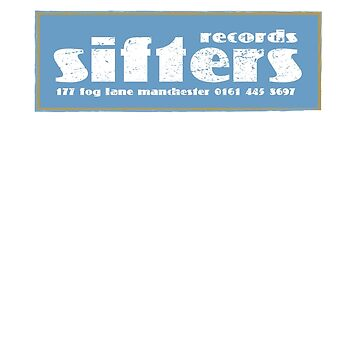 Sifters Records Retro Look (plain) by projectbebop