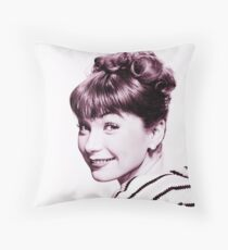 shirley maclaine old theme Throw Pillow