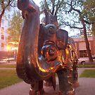 iron elephant by octaviusmiller