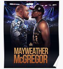 MCGREGOR VS MAYWEATHER Poster