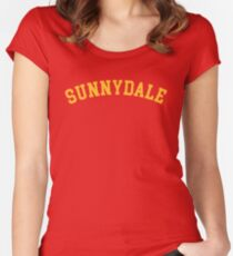Sunnydale High School (Buffy) Women's Fitted Scoop T-Shirt