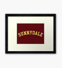 Sunnydale High School (Buffy) Framed Print