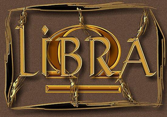 Libra, zodiac sign by Robert Elfferich