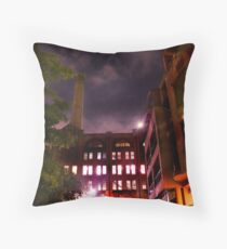 alleyway... Throw Pillow