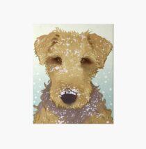 Airedale Terrier Thatcher Art Board