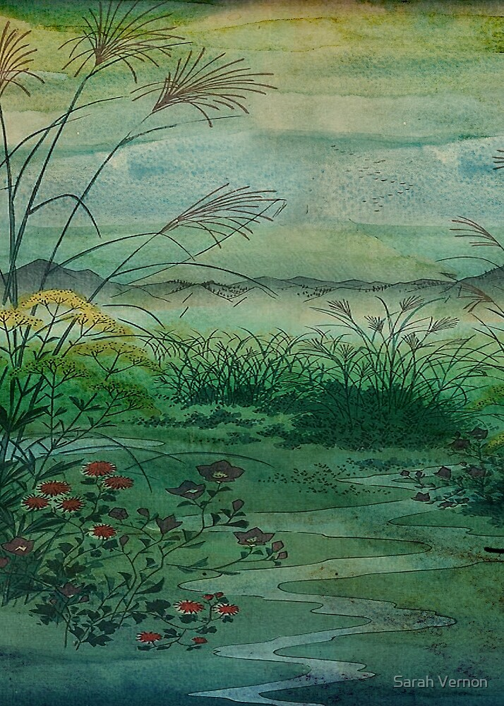 The Green, Green Grass of Home by Sarah Vernon