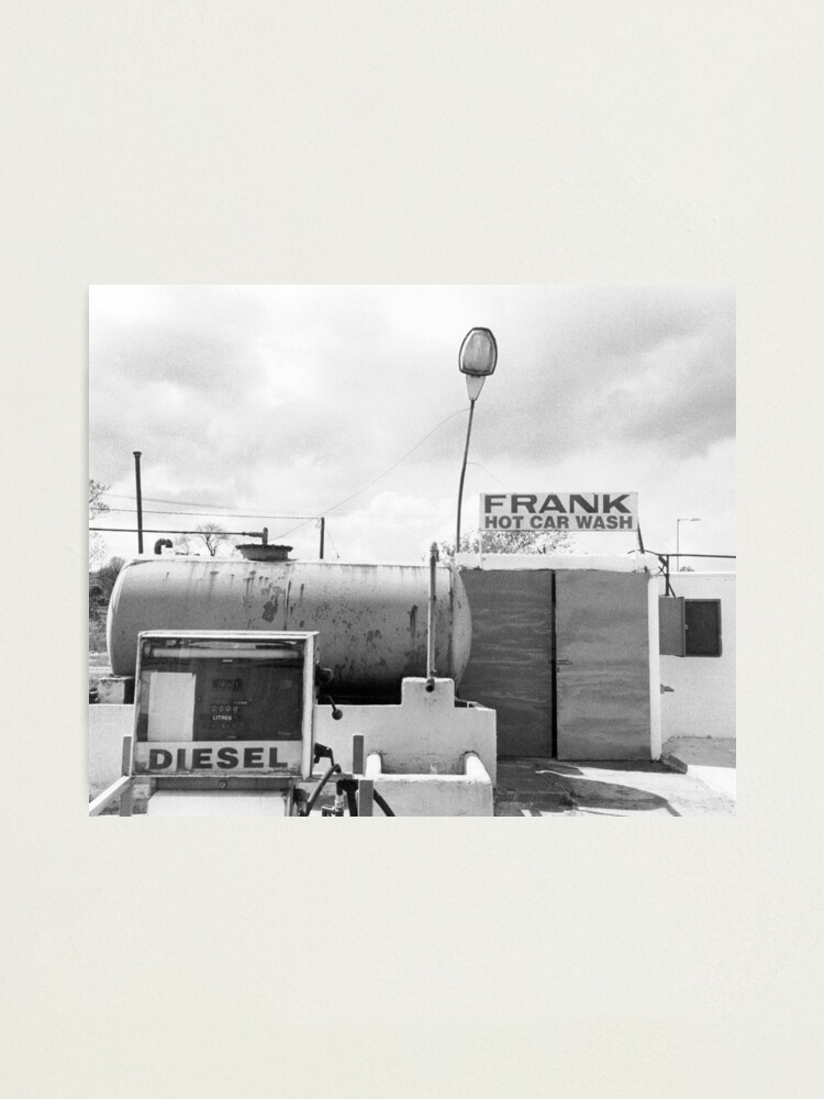 Alternate view of Frank has a car wash Photographic Print