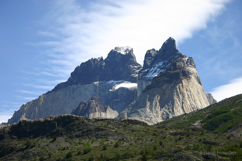 Torres del Paine by Erland Howden