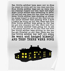 And Then There Were None - Paper Effect Poster